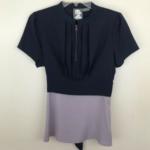 Girls from Savoy Blouse Purple 10